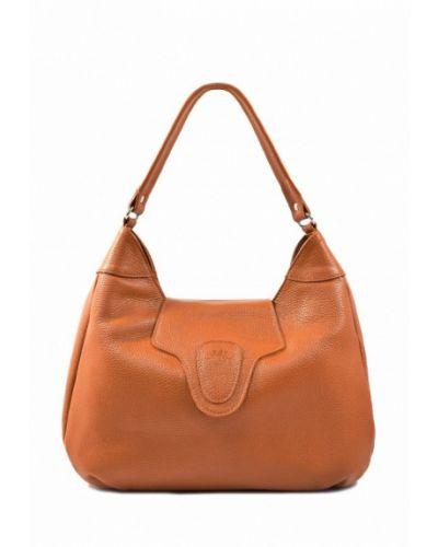 Кожаный сумка сумка-хобо Bb1