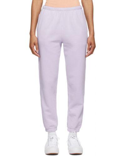 Fioletowe spodnie Re/done