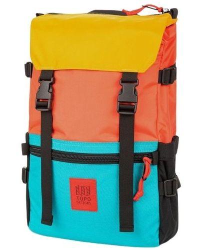 Pomarańczowy plecak Topo Designs