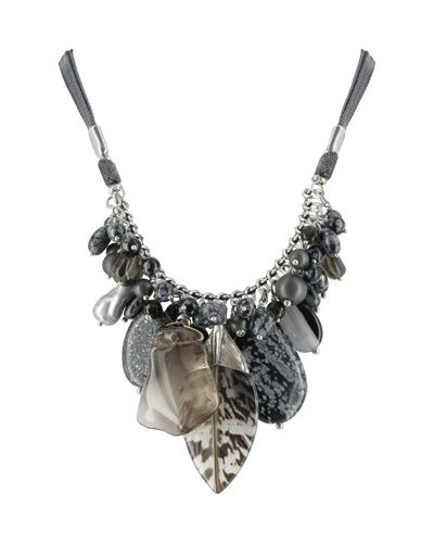 Черное ожерелье Nature Bijoux