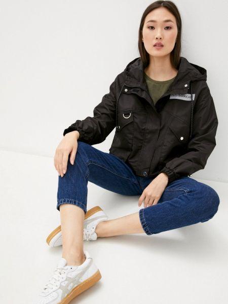 Облегченная черная куртка Defacto