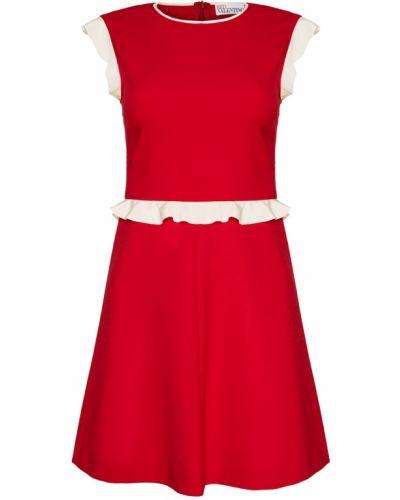 Платье мини трапеция из вискозы Red Valentino