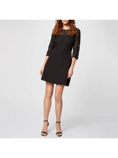 Платье мини расклешенное с вырезом Morgan