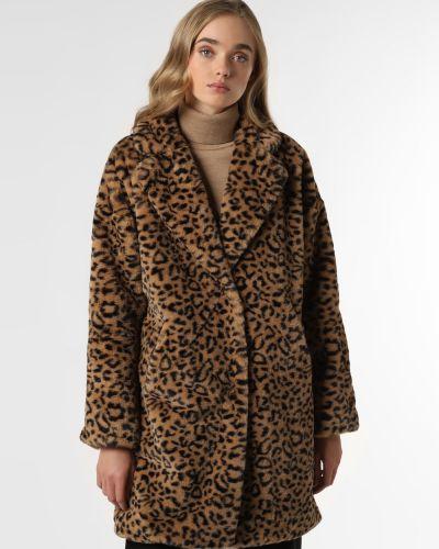 Beżowy klasyczny płaszcz Rino & Pelle