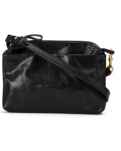 Кожаная сумка на плечо на молнии Corneliani