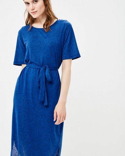 Платье весеннее синее Selected Femme