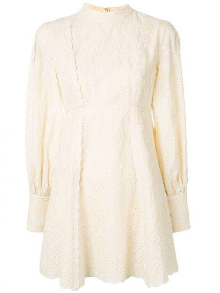 Платье мини с вышивкой на пуговицах Alice Mccall