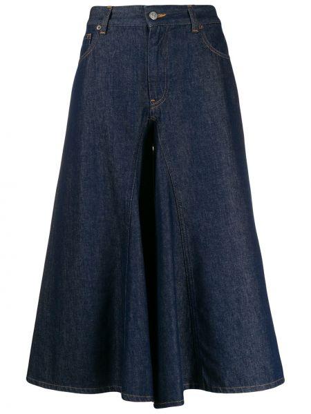 Расклешенные джинсы на пуговицах Mm6 Maison Margiela