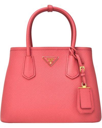 Кожаный сумка на руку маленькая Prada