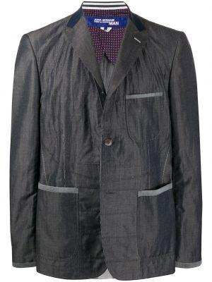 Шерстяной однобортный пиджак на пуговицах с карманами Junya Watanabe Comme Des Garçons Pre-owned