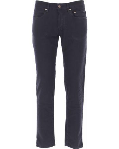 Niebieskie spodnie bawełniane Siviglia