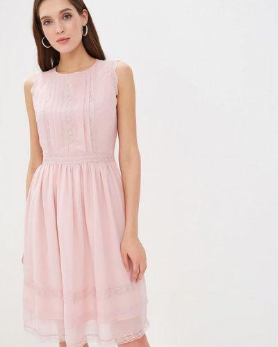 Вечернее платье весеннее розовое Lusio