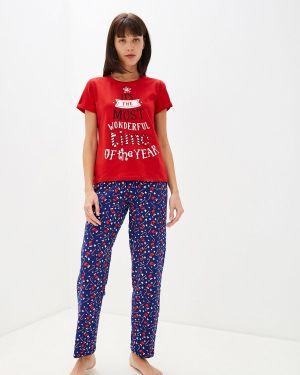 Пижама красная пижамный Deseo