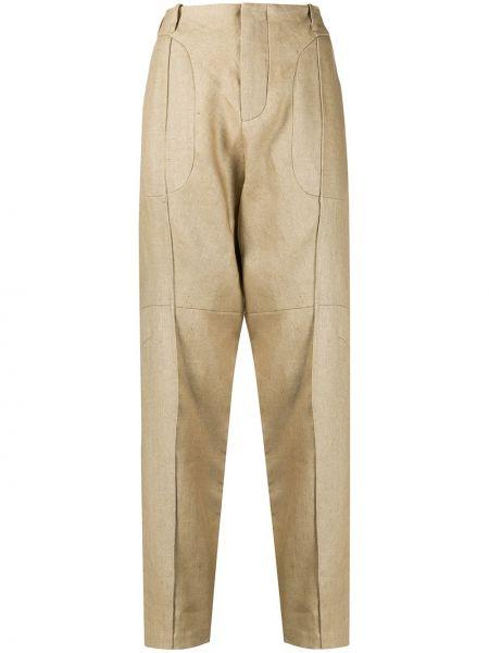 Прямые деловые брюки чиносы с воротником Vejas