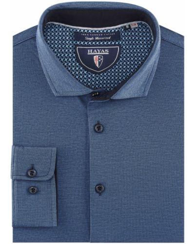 Оксфордская рубашка с узором на высоких Hayas