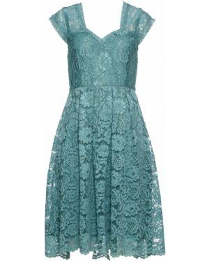 Платье миди с рукавами с вырезом Bonprix