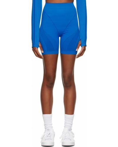 Синие нейлоновые шорты Adidas X Ivy Park