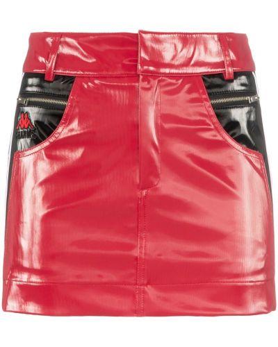 Черная плиссированная юбка мини с карманами Charm`s