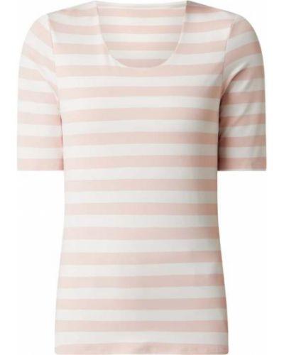 Różowa bluzka w paski Christian Berg Women