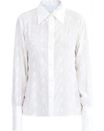 Блузка с пышными рукавами винтажная Chloé