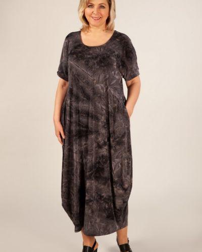 Летнее платье в стиле бохо с карманами милада