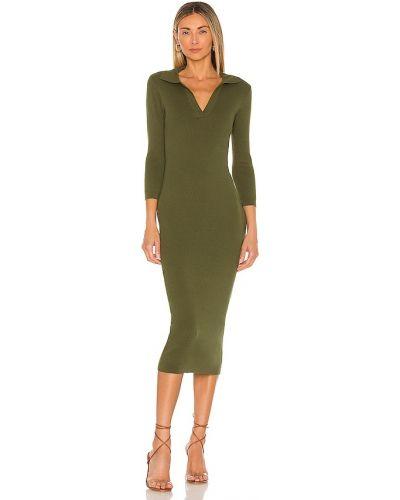 Платье с декольте Line & Dot