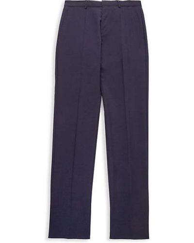 Spodnie wełniane z paskiem Hugo Hugo Boss