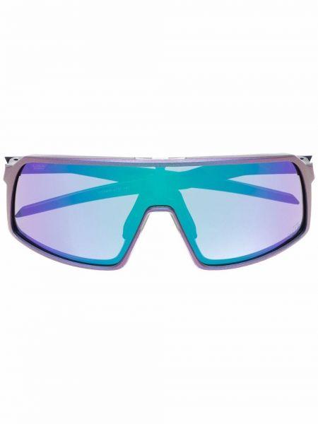 Okulary z printem - fioletowe Oakley