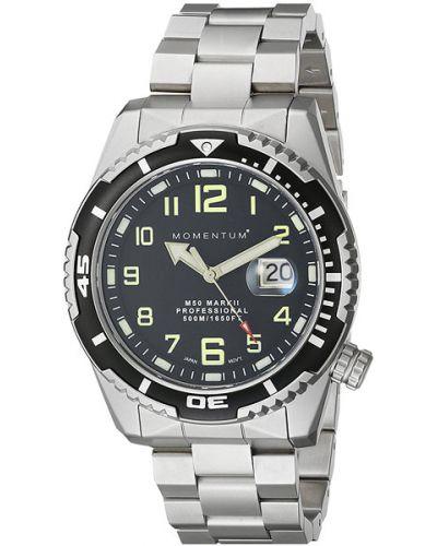 Часы водонепроницаемые с подсветкой стрелочные Momentum