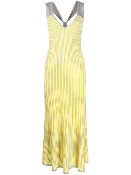 Sukienka dla wysokich kobiet z paskiem Missoni