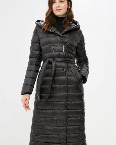 Зимняя куртка черная осенняя Modis