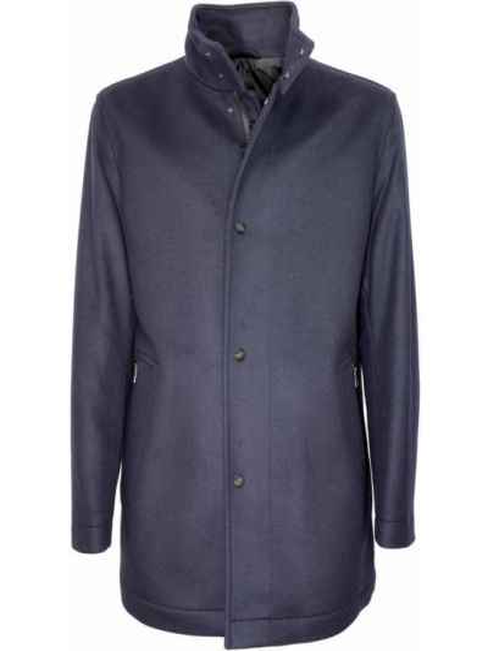 Niebieska kurtka materiałowa Hugo Boss