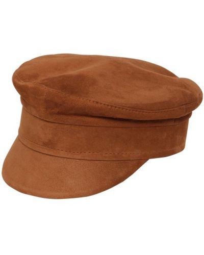 Замшевая кепка - коричневая Ruslan Baginskiy