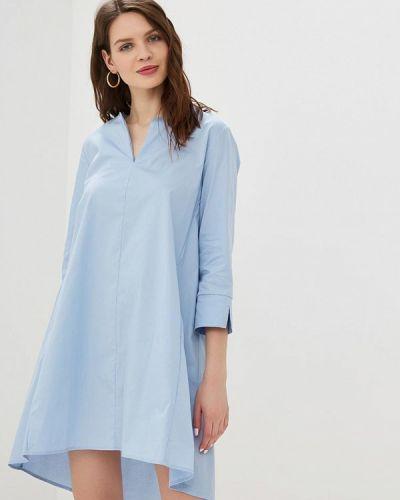 Платье - голубое Massimiliano Bini