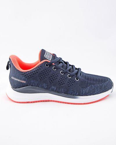 Текстильные синие кроссовки Baas