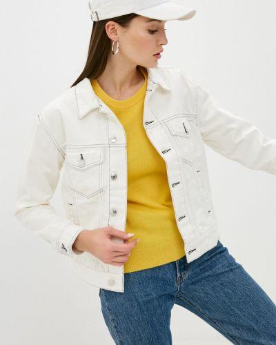Белая джинсовая куртка Quiksilver