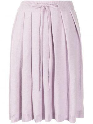 Плиссированная юбка - фиолетовая Sjyp