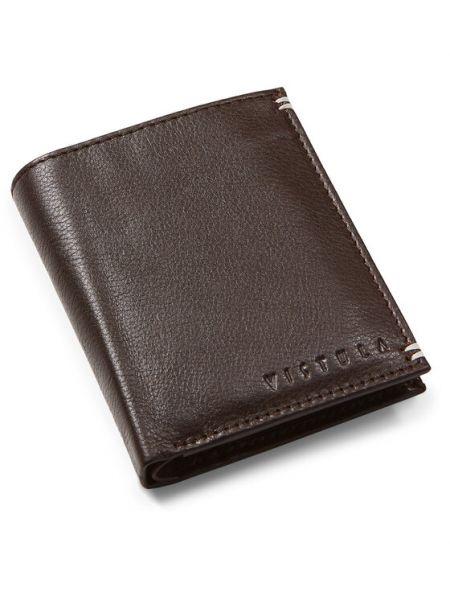 Brązowy portfel oversize Vistula