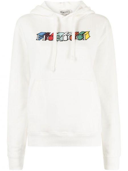 Biały sweter bawełniany Fiorucci