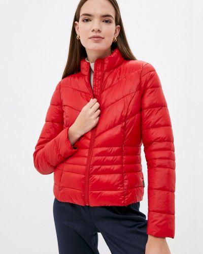 Утепленная куртка - красная Vero Moda