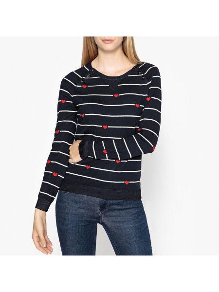 Пуловер в рубчик на пуговицах Maison Scotch