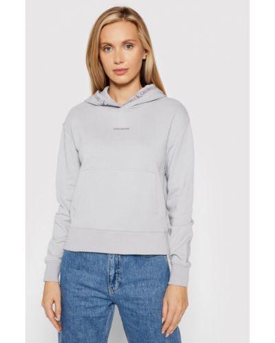 Bluza - szara Calvin Klein Jeans