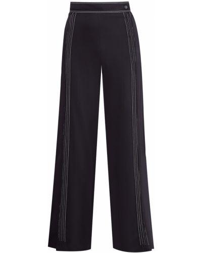 Спортивные брюки свободные с люрексом Valentino