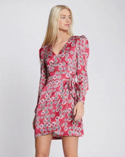 Прямое розовое платье Morgan