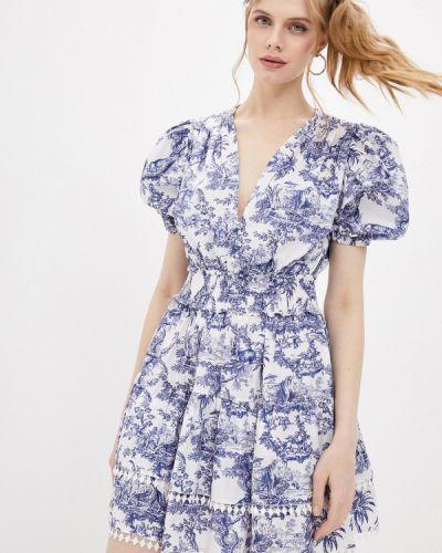 Повседневное белое платье Forte Dei Marmi Couture