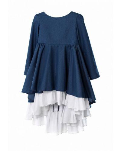 Платье синий Malyna