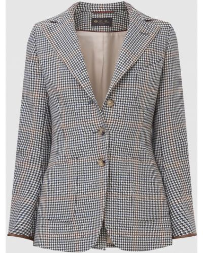 Шерстяной пиджак - серый Loro Piana
