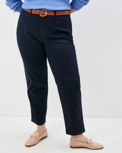 Синие брюки повседневные Lauren Ralph Lauren Woman