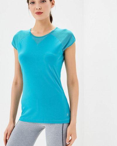 Бирюзовая спортивная футболка Asics