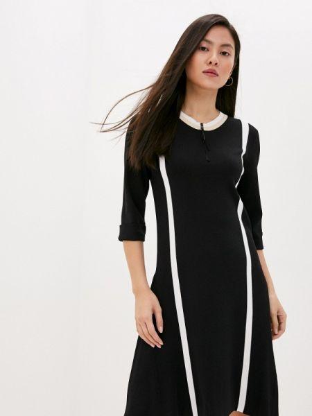 Повседневное платье черное весеннее Dorothee Schumacher